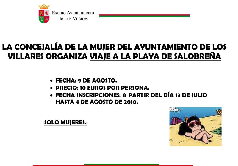 LA CONCEJALÍA DE LA MUJER DEL AYUNTAMIENTO DE LOS VILLARES ORGAN