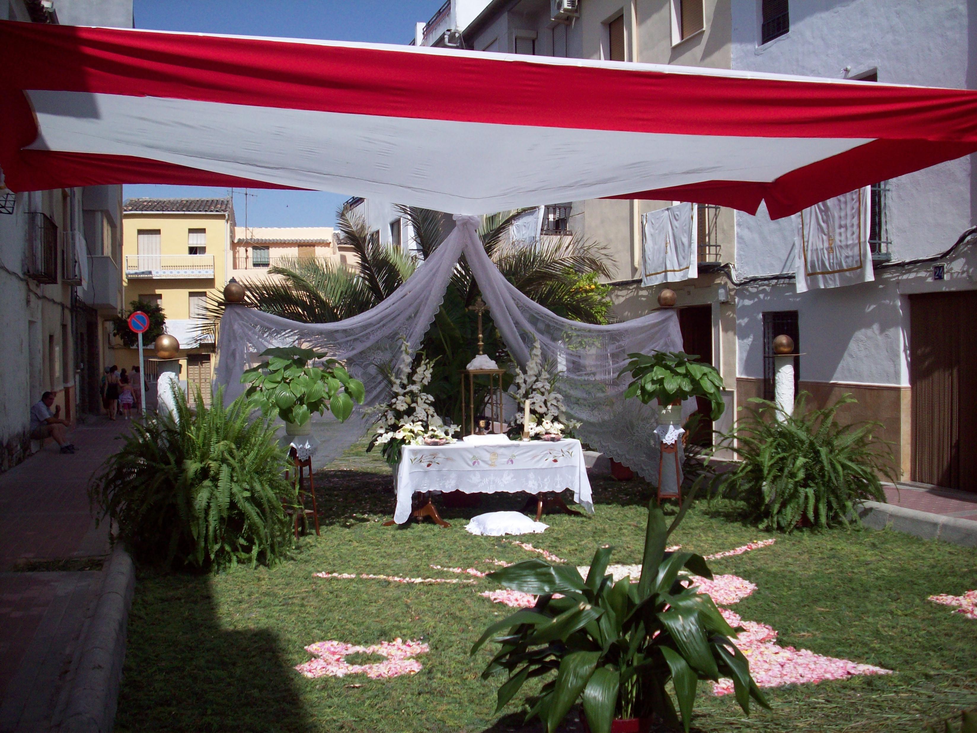 Decoracion Altar Para La Virgen ~ ALTAR DE LA CALLE HUERTO DE LA VIRGEN 1