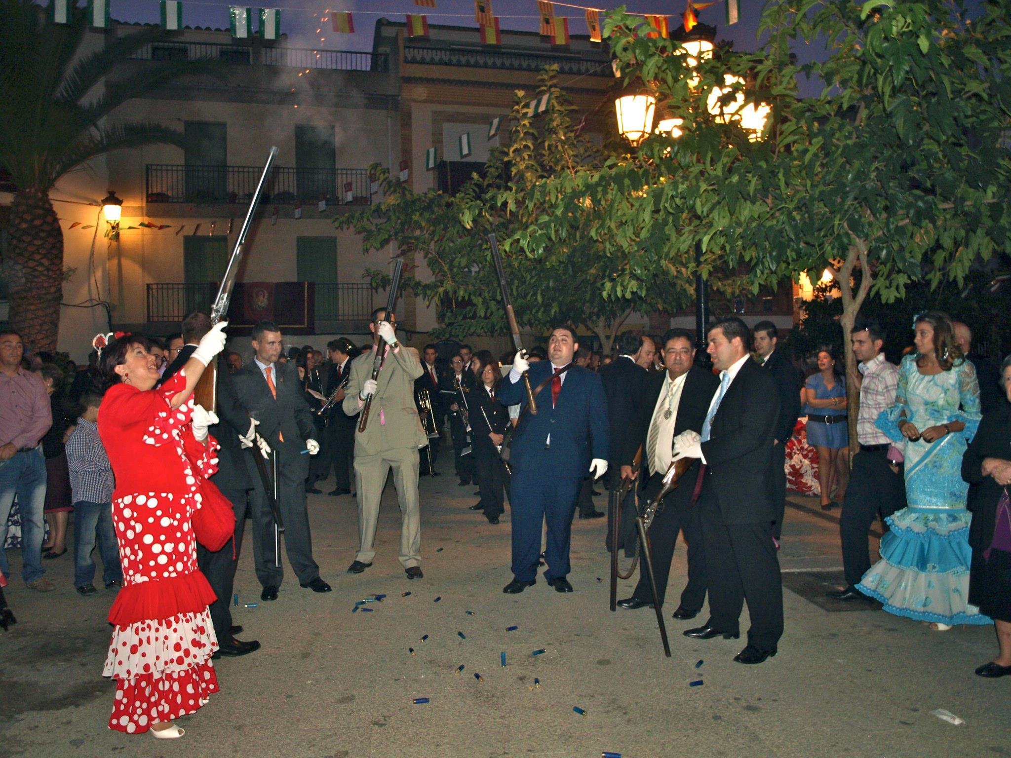 Los villares ferias y fiestas del rosario 2011 en los - Tiempo los villares jaen ...