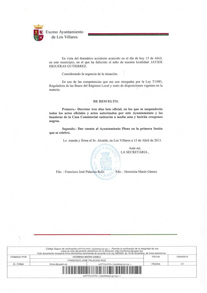 Los villares una terrible p rdida para este municipio - Tiempo los villares jaen ...