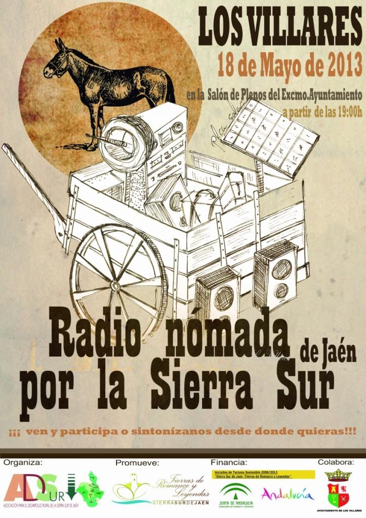 Cartel-RadioItinerante-2013 LOS VILLARES