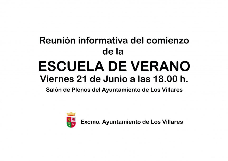 reunion informativa 2013