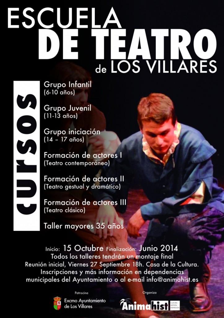 escuela teatro 2013