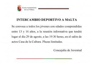 INTERCAMBIO A MALTA
